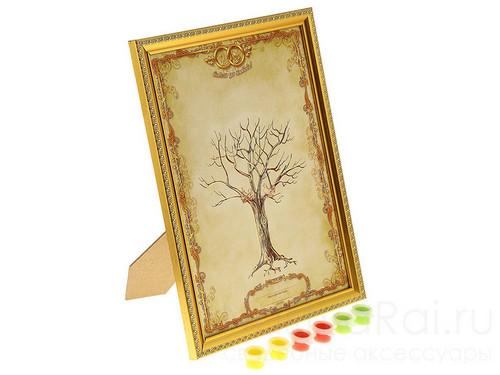 Золотистое дерево пожеланий