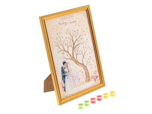 """Дерево пожеланий """"Жених с невестой"""""""