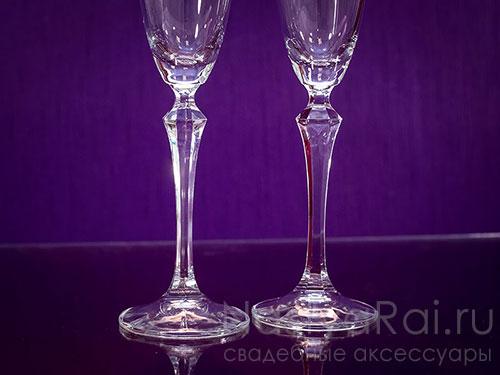 Бокалы для шампанского с гравировкой