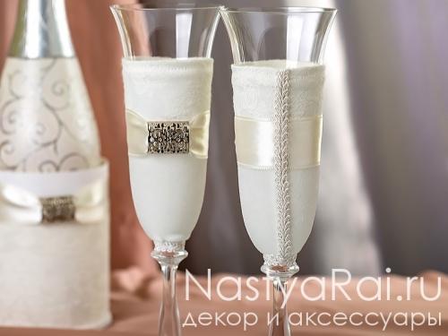 """Свадебные бокалы из коллекции """"Гармония"""""""