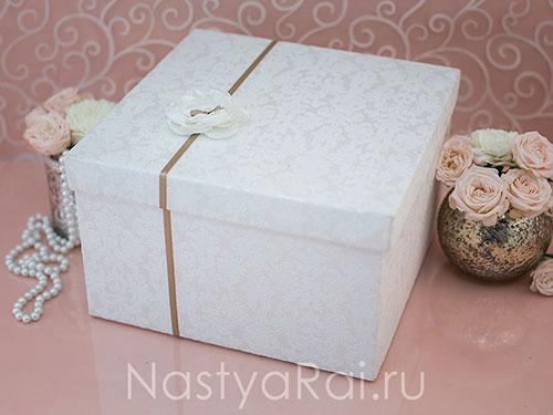 Коробка для подарков на свадьбе