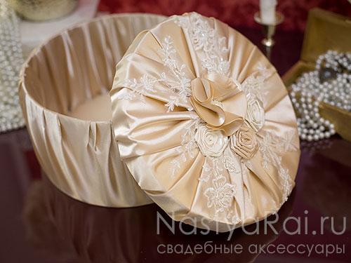 """Свадебная коробка для подарков """"Мадемуазель"""""""