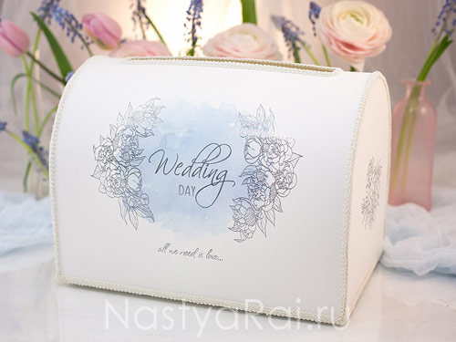 Коробки для подарков на свадьбу фото