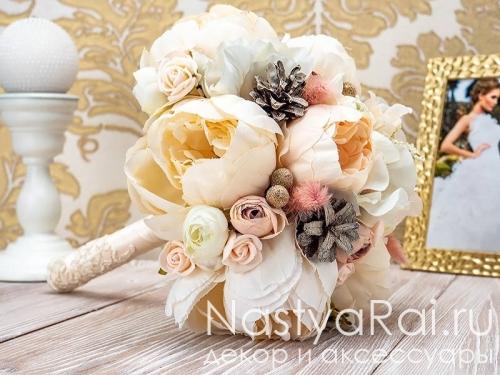 Букет-дублер из розовых роз