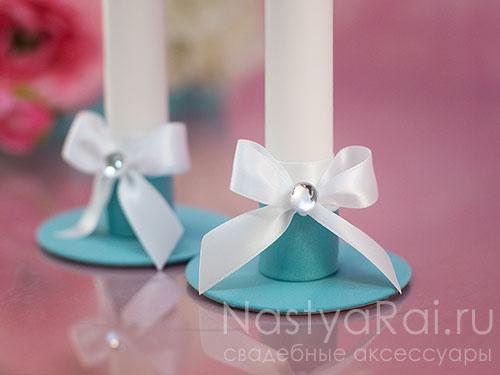 """Свадебные свечи """"Тиффани"""""""