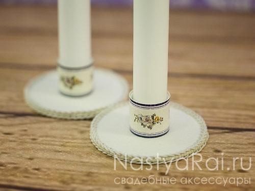 """Свадебные свечи """"Амьен"""""""