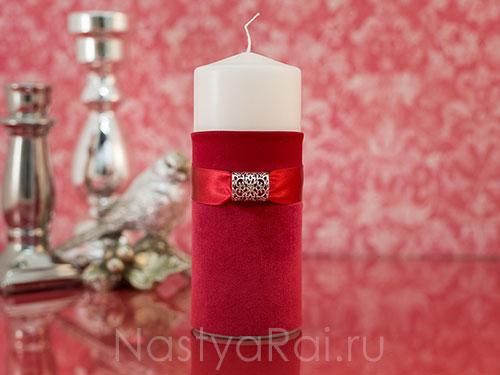 "Набор свечей ""Рубин"""