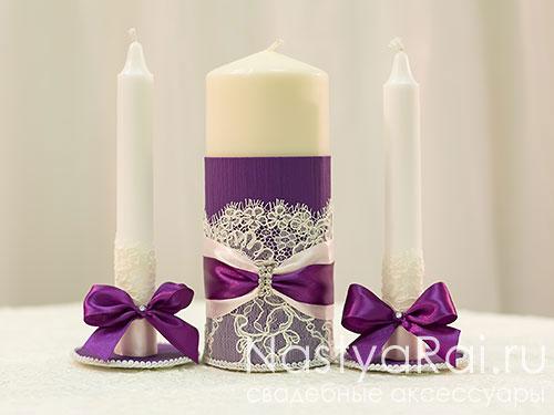 Свечи очаг декор