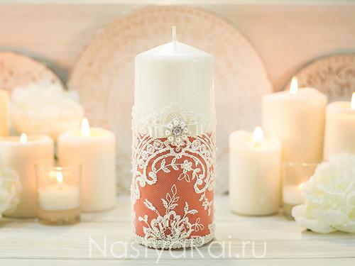 "Свадебные свечи ""Флейм"""