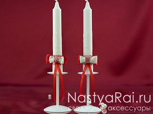 """Свадебные свечи коллекция """"Лилль"""""""