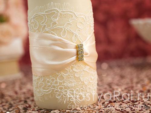 """Свадебные свечи """"Лион"""""""