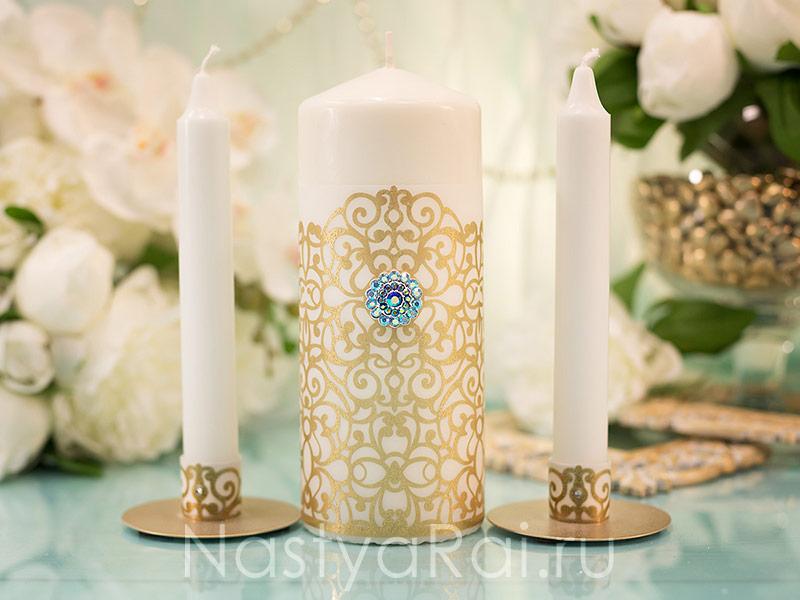 Свечи большие на свадьбу
