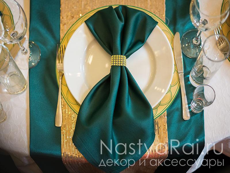 Кольца для салфеток на свадьбу