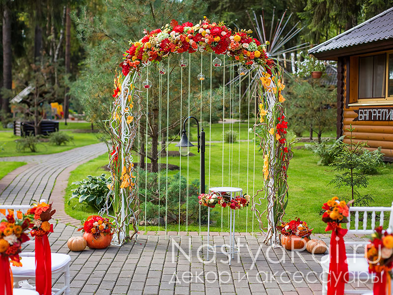Своими руками цветы из арок