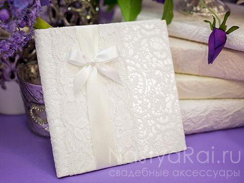 Коробочка для дисков свадебных Люкс