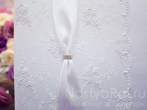 Свадебный фотоальбом Мальта. Белый, под уголки