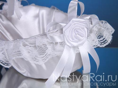 Свадебная корзинка, белая