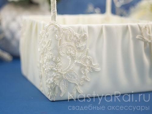 """Свадебная корзинка """"Виктория"""""""