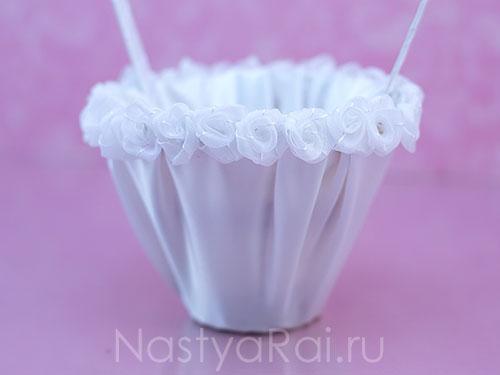 Корзинка для маленьких подружек невесты