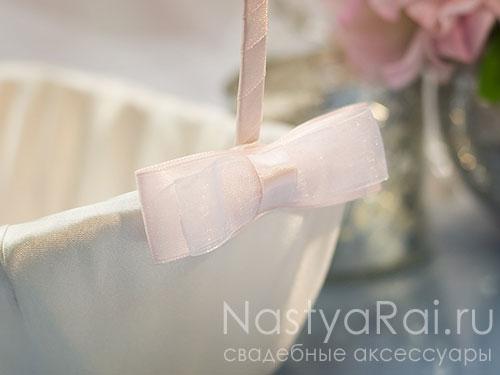 "Корзинка ""Розовая акварель"""