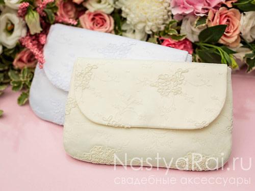 Свадебная сумочка Мальта. Белая