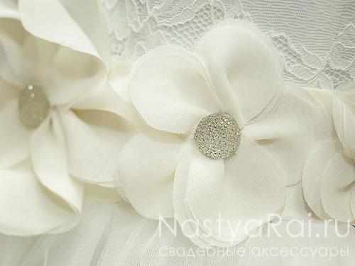 """Пояс для свадебного платья """"Бали"""""""