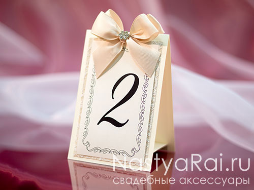 Номер для столов на свадьбу своими руками