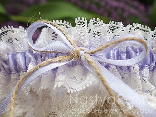 """Подвязка невесты """"Прованс"""""""