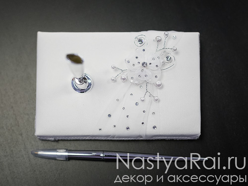 Серебряная свадебная ручка, в ассортименте