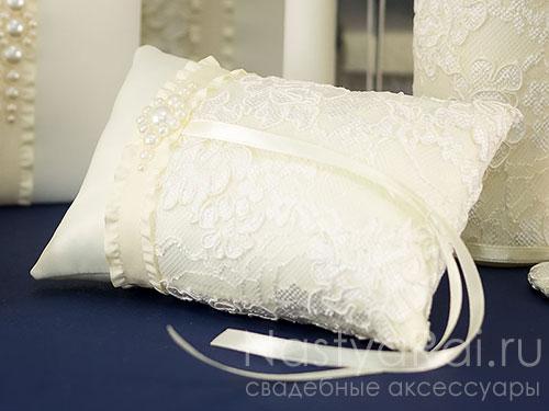 Подушечки и шкатулки для колец