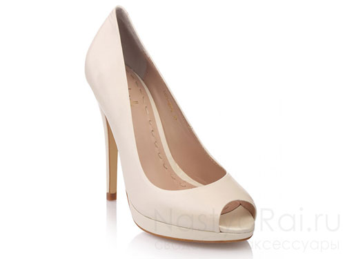 Свадебная обувь: туфли, балетки для невесты - где купить в Москве