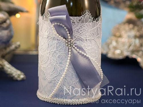 """Украшение для шампанского """"Шантильи"""""""