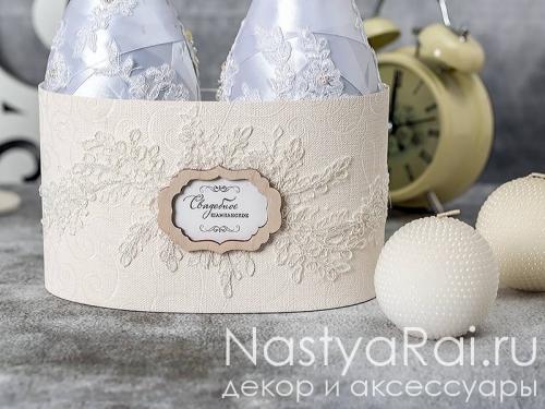 """Украшение на шампанское - коллекция """"Мелодия любви"""""""