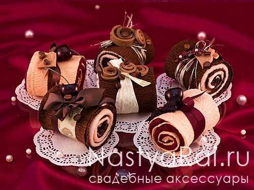 Подарок для гостей - Кекс