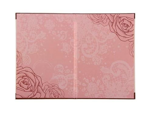 Папка А5, розовая