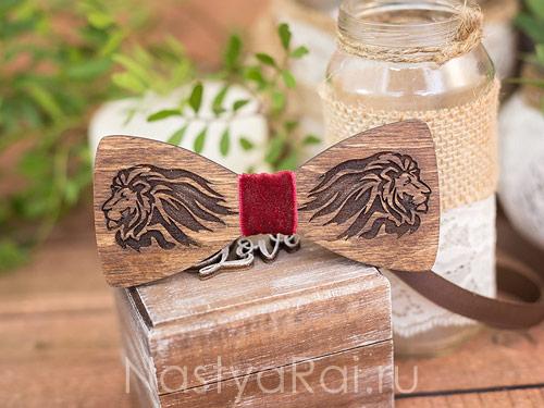 Деревянная бабочка, ваш дизайн