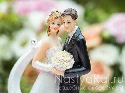Свадебная пара на торт