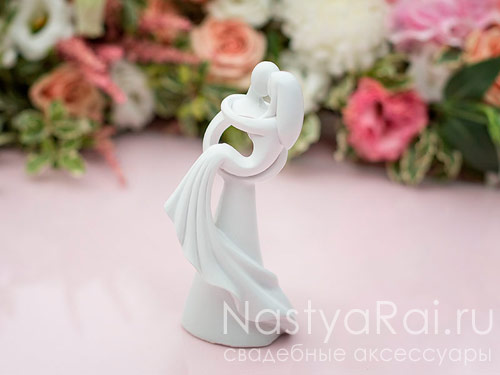 Фигурка - силуэты жениха и невесты