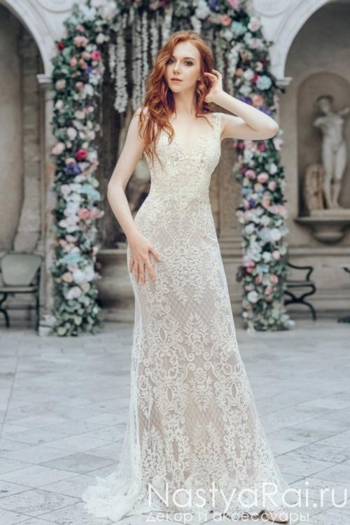 Кружевное платье русалка ZWF006