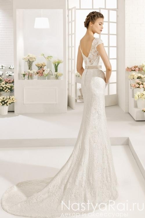 Кружевное свадебное платье AIRE BARCELONA GRETA