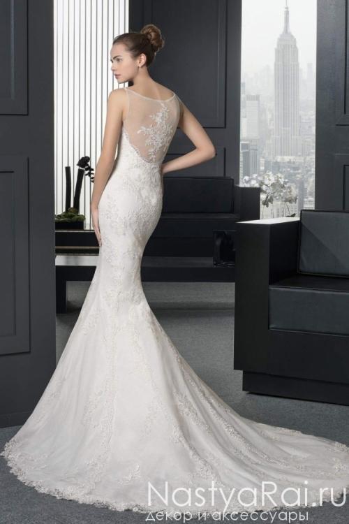 Свадебное платье силуэта русалка ROSA CLARA 8A59