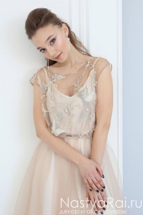 Летнее платье-миди ZVB006B
