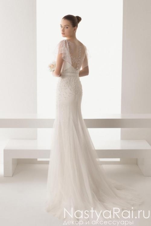 Свадебное платье-русалка с пайетками ROSA CLARA 8K08