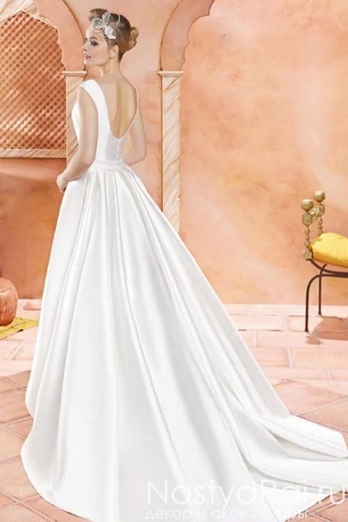 Атласное свадебное платье VALERIO LUNA VL5910
