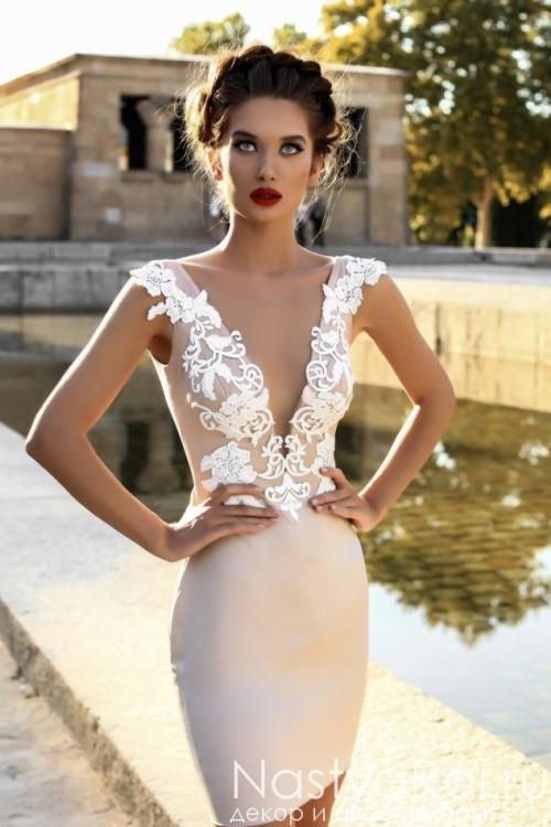 Свадебное платье-трансформер ZVS005