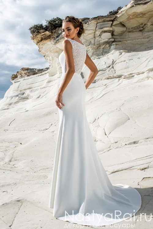 Облегающее свадебное платье ZBZ002