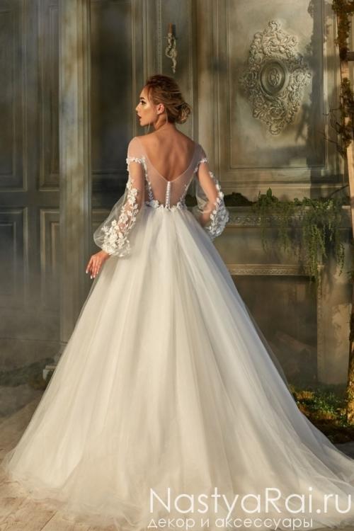 Пышное свадебное платье ZBW001
