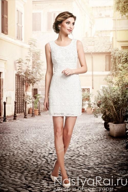 Свадебное платье-трансформер без рукавов PP001