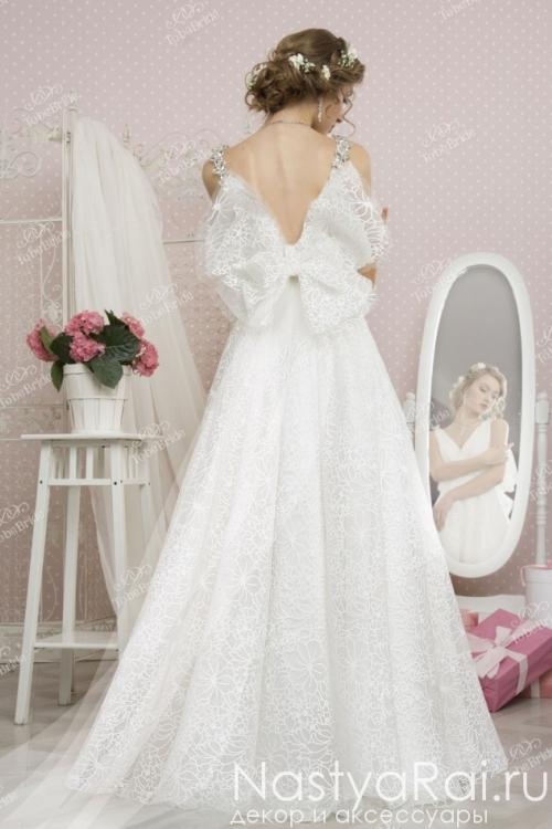 Свадебное платье с крылышками TB058