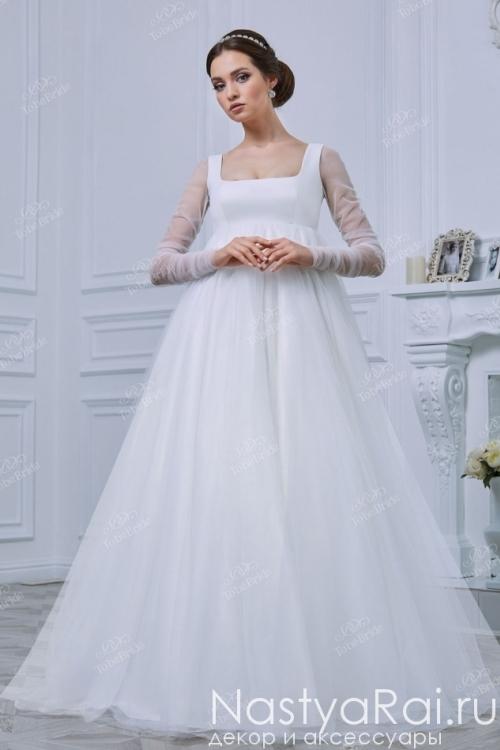 Свадебное платье для беременных RB006